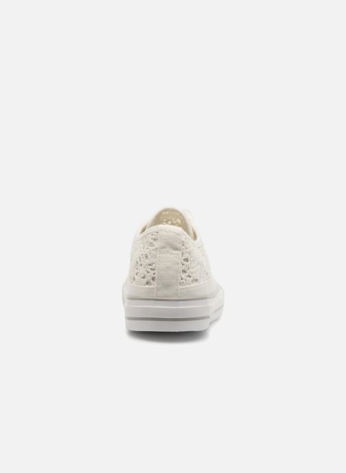 Baskets I Love Shoes FITEBA Size + Blanc vue droite