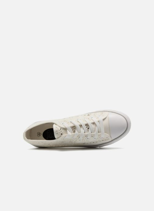 Baskets I Love Shoes FITEBA Size + Blanc vue gauche