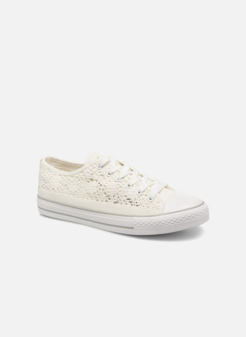 Baskets I Love Shoes FITEBA Size + Blanc vue détail/paire