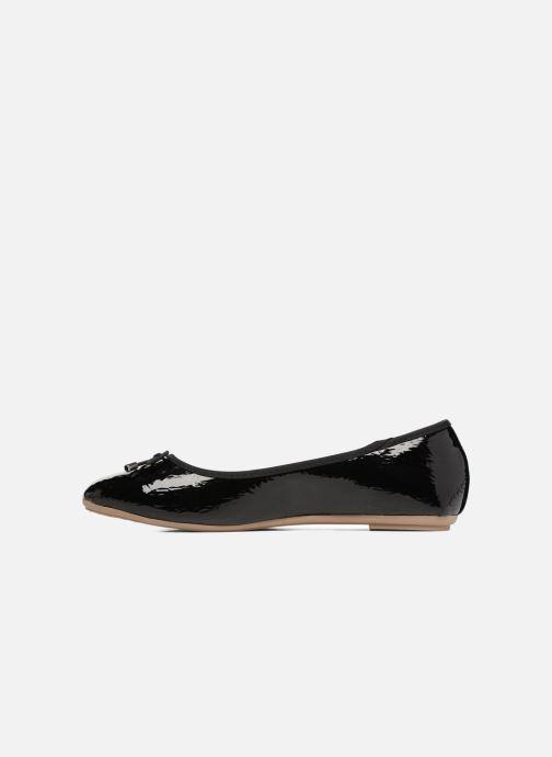 Ballet pumps I Love Shoes FAVE 2 Size + Black front view