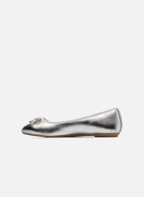 Ballerinaer I Love Shoes FIBAL Size + Sølv se forfra
