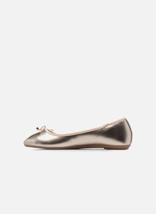 Bailarinas I Love Shoes FIBAL Size + Oro y bronce vista de frente