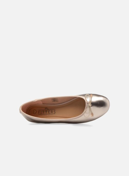 Ballerines I Love Shoes FIBAL Size + Or et bronze vue gauche