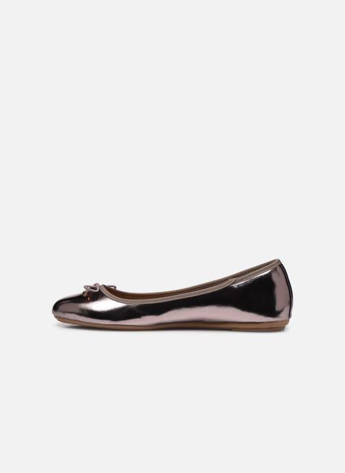 Bailarinas I Love Shoes FIBAL Size + Plateado vista de frente