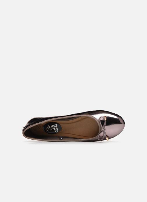 Bailarinas I Love Shoes FIBAL Size + Plateado vista lateral izquierda