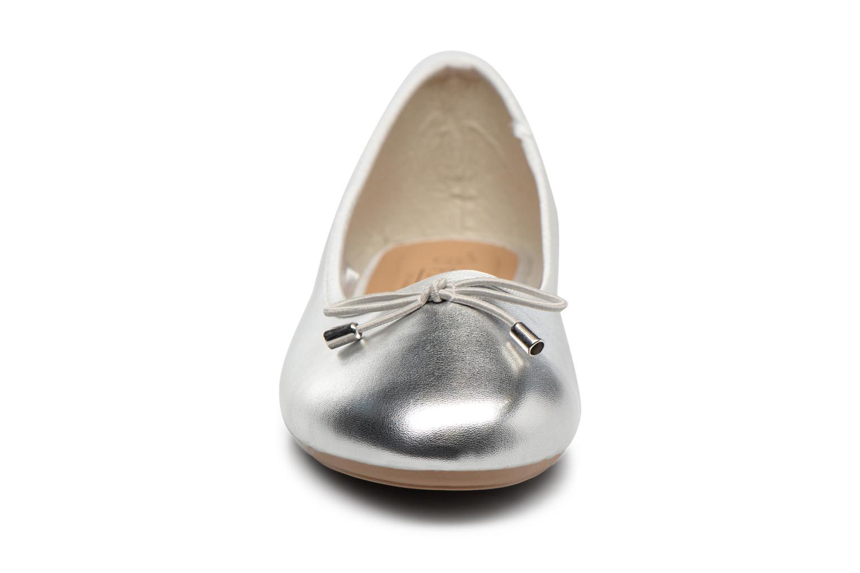 Ballerines I Love Shoes FIBAL Size + Argent vue portées chaussures