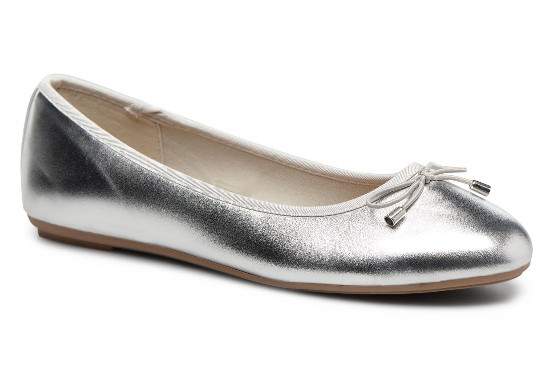 Ballerines I Love Shoes FIBAL Size + Argent vue détail/paire
