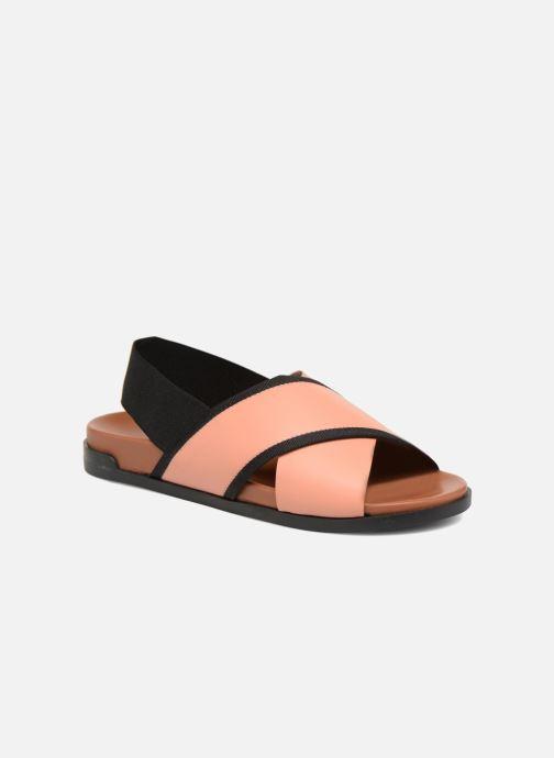 Sandales et nu-pieds Another Project Makeru Rose vue détail/paire