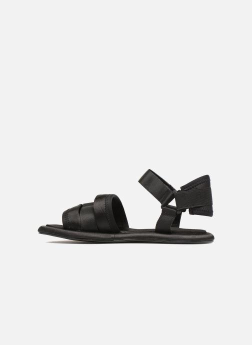 Sandales et nu-pieds Another Project Piruda Noir vue face