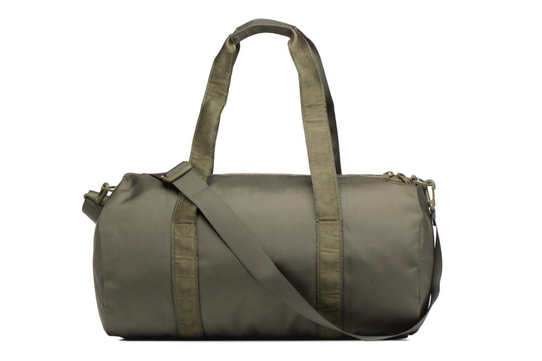 Sporttaschen Fred Perry Tonal Track Barrel Bag grün ansicht von vorne
