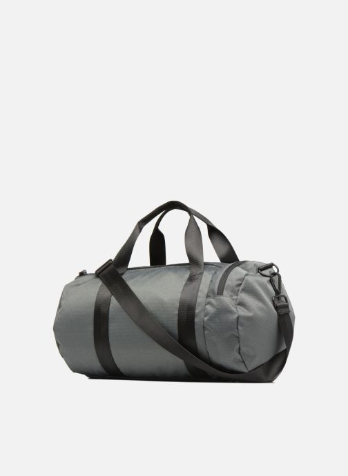 Sacs de sport Fred Perry Textured Weave Barrel Bag Gris vue droite