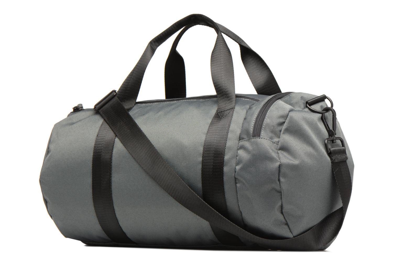 Sporttaschen Fred Perry Textured Weave Barrel Bag grau ansicht von rechts