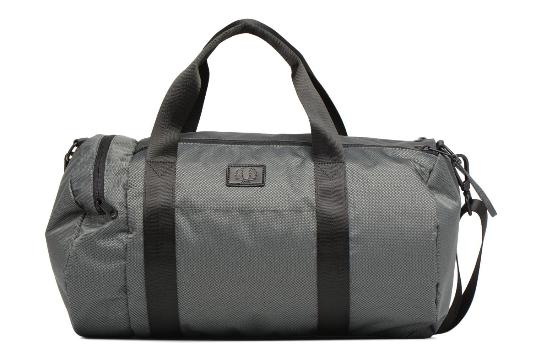 Sporttaschen Fred Perry Textured Weave Barrel Bag grau detaillierte ansicht/modell