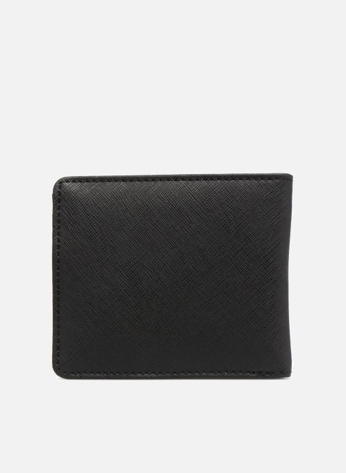 Petite Maroquinerie Fred Perry Saffiano Billfold Wallet Noir vue face