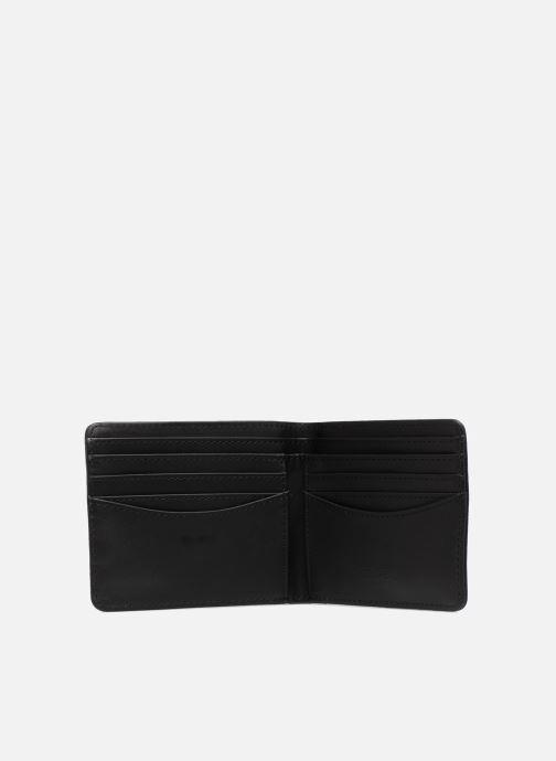 Petite Maroquinerie Fred Perry Saffiano Billfold Wallet Noir vue derrière