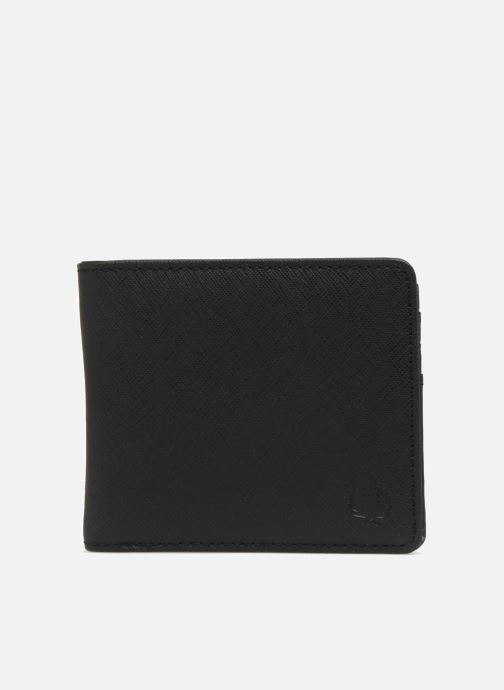 Petite Maroquinerie Fred Perry Saffiano Billfold Wallet Noir vue détail/paire