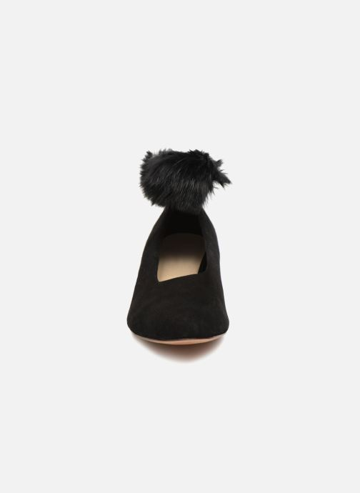 Ballerines Mari Giudicelli Pina Ballerina Noir vue portées chaussures