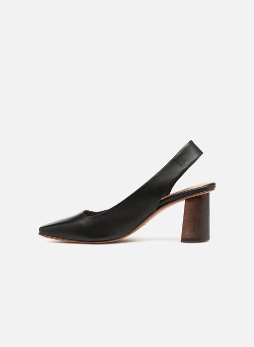 High heels Mari Giudicelli Helena Pump Black front view