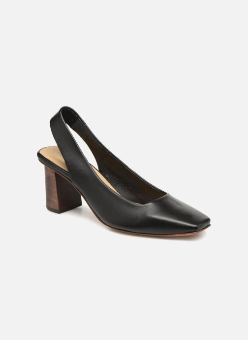 High heels Mari Giudicelli Helena Pump Black detailed view/ Pair view