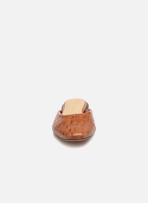 Mules & clogs Mari Giudicelli Leblon Mule flat Brown model view