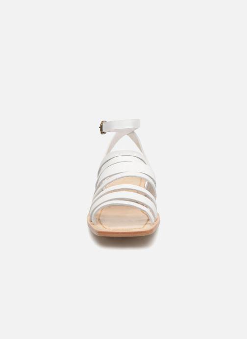 Sandales et nu-pieds Mari Giudicelli Costa Sandal Blanc vue droite