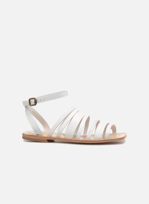 Sandales et nu-pieds Mari Giudicelli Costa Sandal Blanc vue derrière