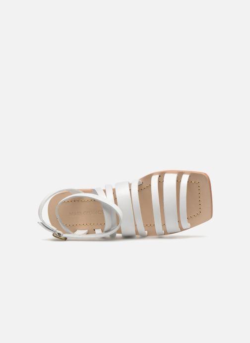 Sandales et nu-pieds Mari Giudicelli Costa Sandal Blanc vue gauche
