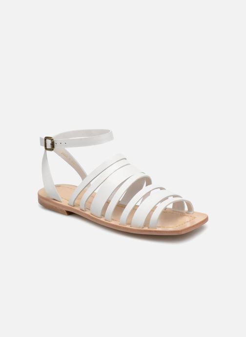 Sandales et nu-pieds Mari Giudicelli Costa Sandal Blanc vue détail/paire