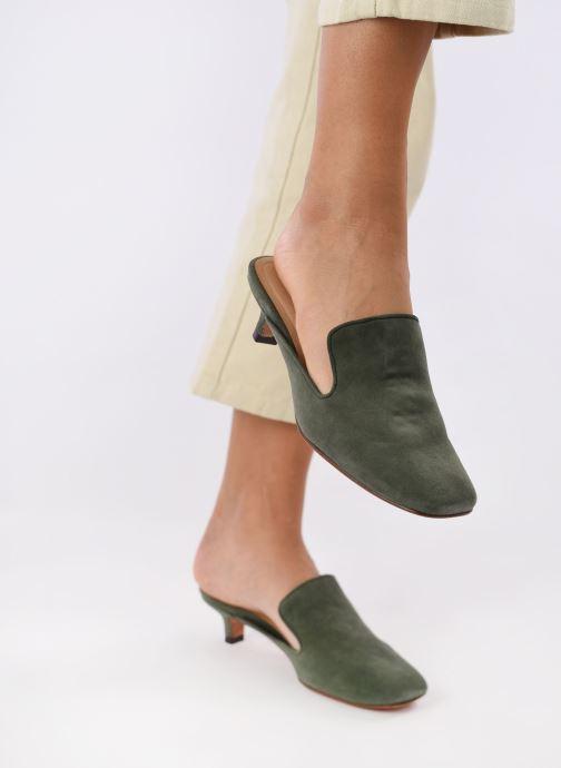 Clogs & Pantoletten Mari Giudicelli Betina Pump grün ansicht von unten / tasche getragen