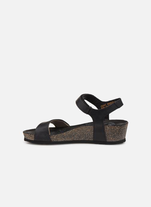 Sandales et nu-pieds Panama Jack Capri Noir vue face