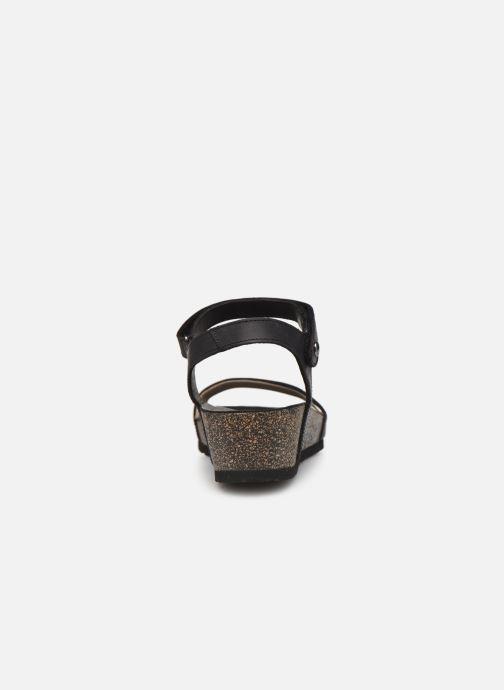 Sandales et nu-pieds Panama Jack Capri Noir vue droite