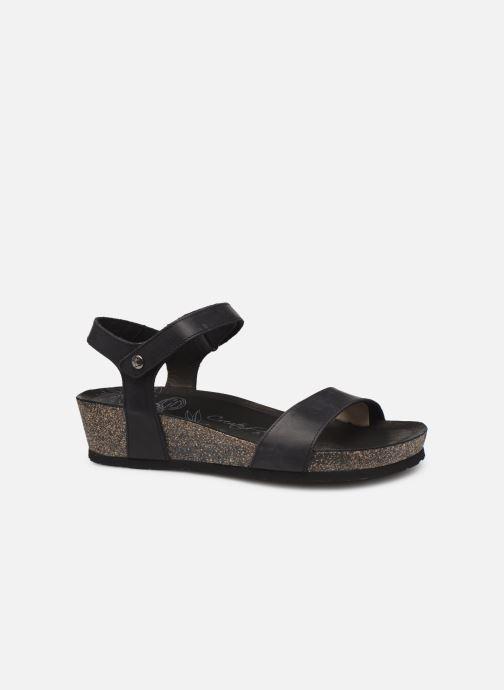 Sandales et nu-pieds Panama Jack Capri Noir vue derrière