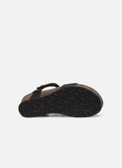 Sandales et nu-pieds Panama Jack Capri Noir vue haut