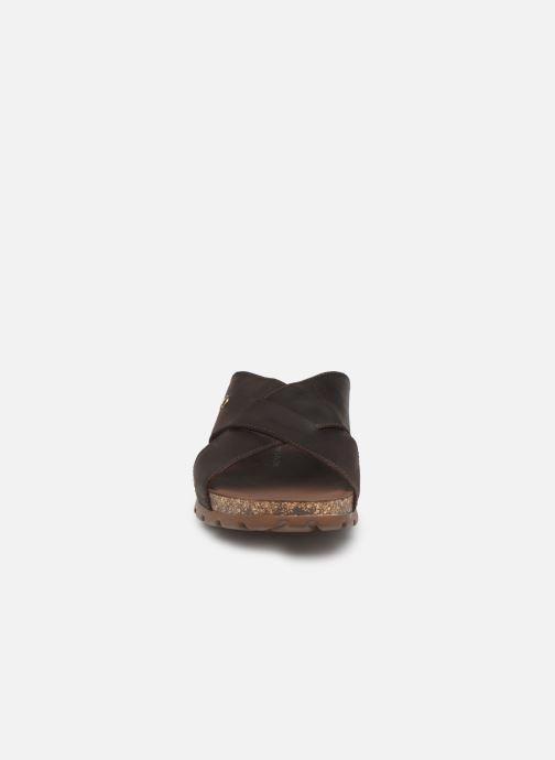 Sandales et nu-pieds Panama Jack Salman Noir vue portées chaussures