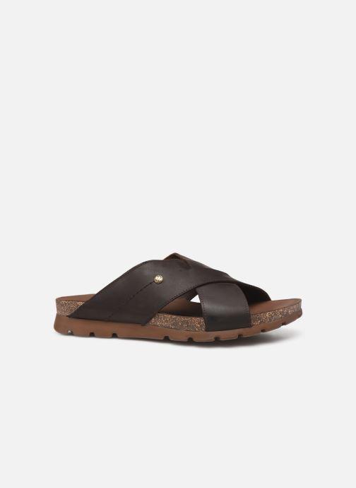 Sandales et nu-pieds Panama Jack Salman Noir vue derrière