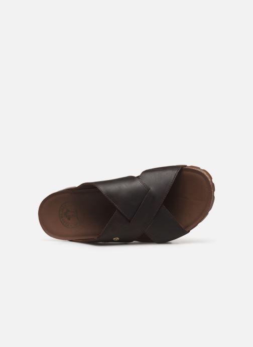 Sandales et nu-pieds Panama Jack Salman Noir vue gauche