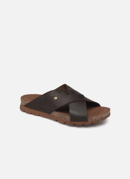 Sandales et nu-pieds Panama Jack Salman Noir vue détail/paire