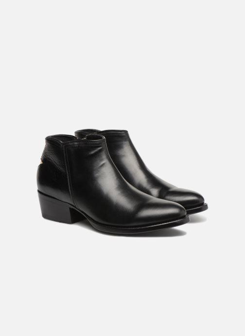 Bottines et boots Mexicana Crios Noir vue 3/4