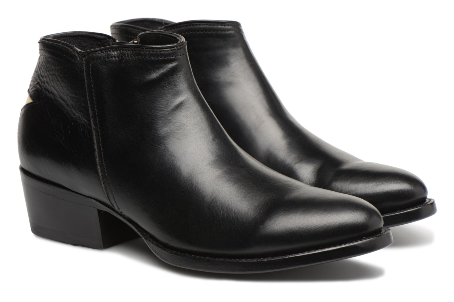 Ankle boots Mexicana Crios Black 3/4 view
