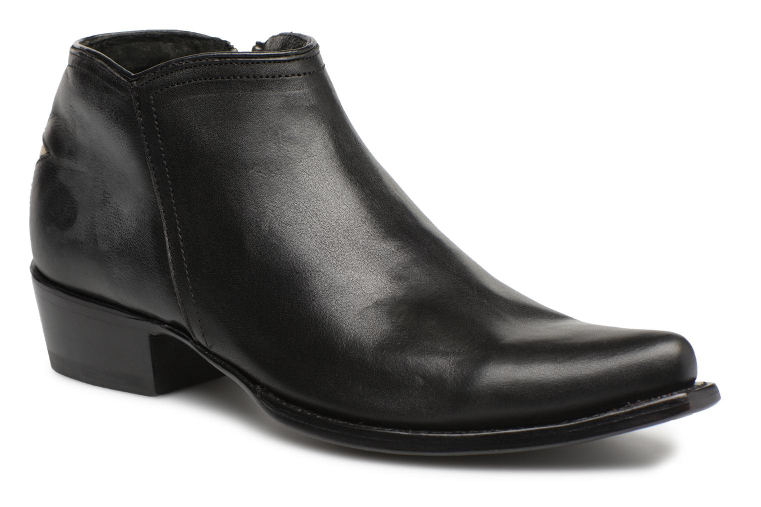 Ankle boots Mexicana Crios Black detailed view/ Pair view
