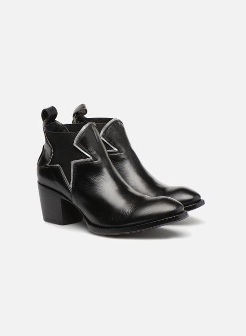 Bottines et boots Mexicana Polacco Noir vue 3/4