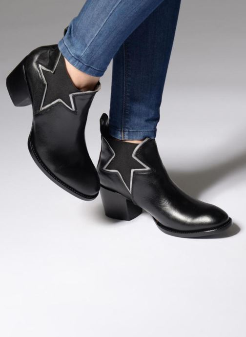 Bottines et boots Mexicana Polacco Noir vue bas / vue portée sac