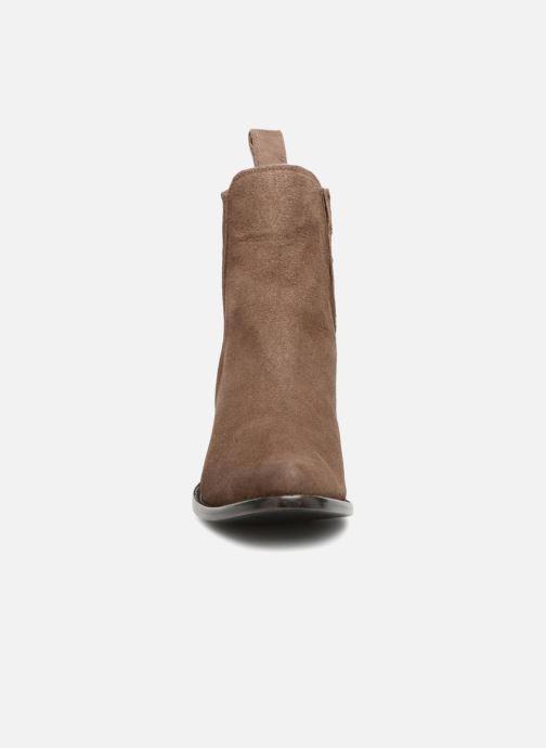 Bottines et boots Mexicana Estudio Marron vue portées chaussures