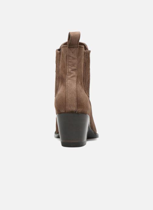 Ankelstøvler Mexicana Estudio Brun Se fra højre