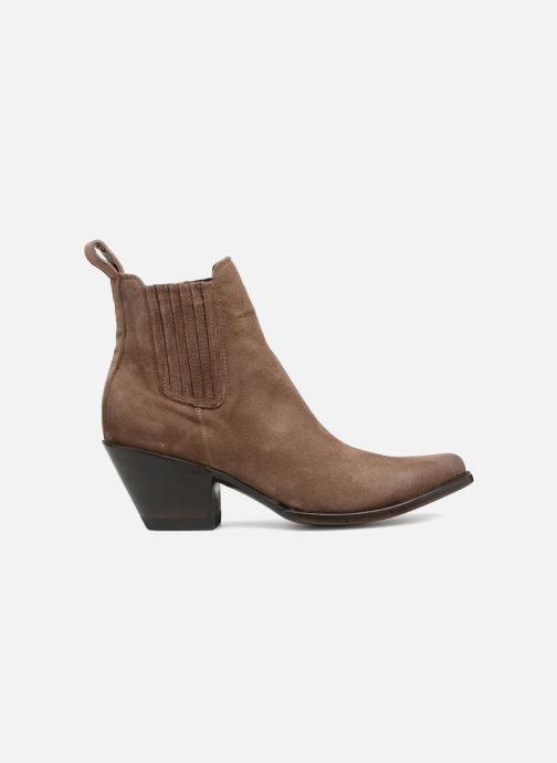 Boots en enkellaarsjes Mexicana Estudio Bruin achterkant
