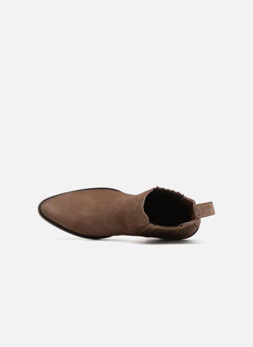 Bottines et boots Mexicana Estudio Marron vue gauche