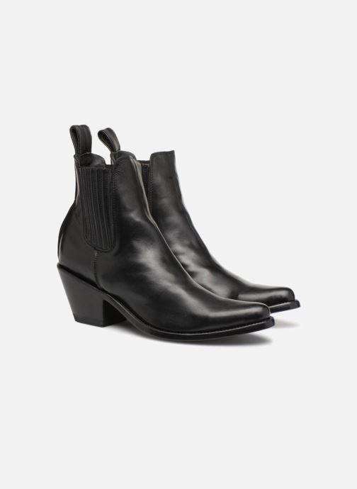 Ankle boots Mexicana Estudio Black 3/4 view