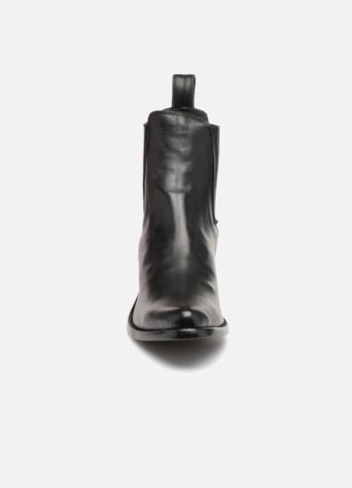 Ankle boots Mexicana Estudio Black model view