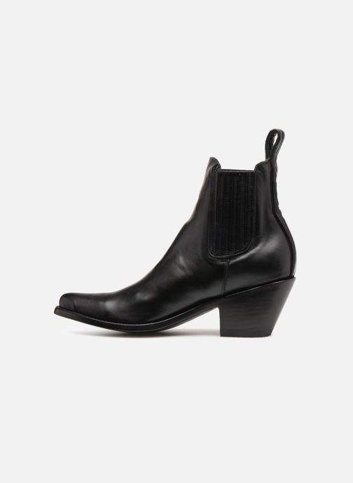 Boots en enkellaarsjes Mexicana Estudio Zwart voorkant