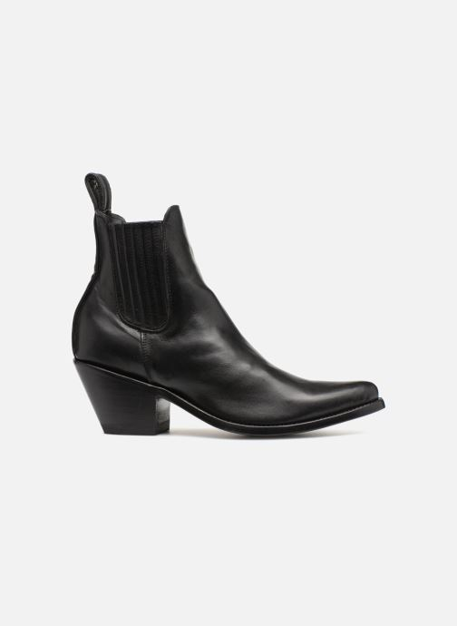 Boots en enkellaarsjes Mexicana Estudio Zwart achterkant